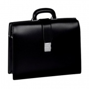 Черный портфель Meisterstuck Single Gusset Framed Briefcase с 1 отделением